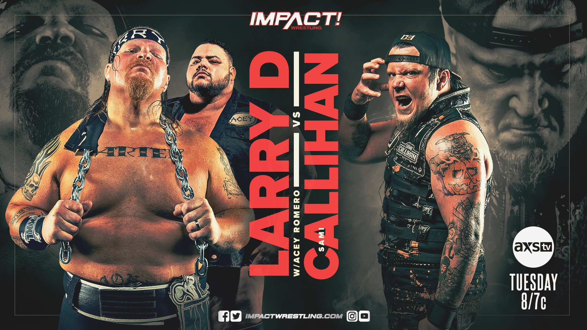 IMPACT Wrestling Larry D Sami Callihan