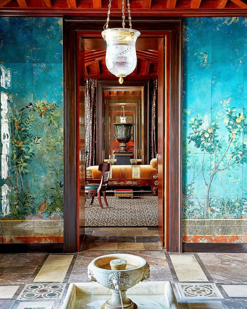 """The P A S T lives on with us through the M A G I C we create ✨  📸: @archdigest """"I am a romantic futuristic, not a nostalgic,"""" says #AD100 interior designer @jacquesgarciaofficiel; for him, the past is not just inspiring but forever alive. This is evi…"""