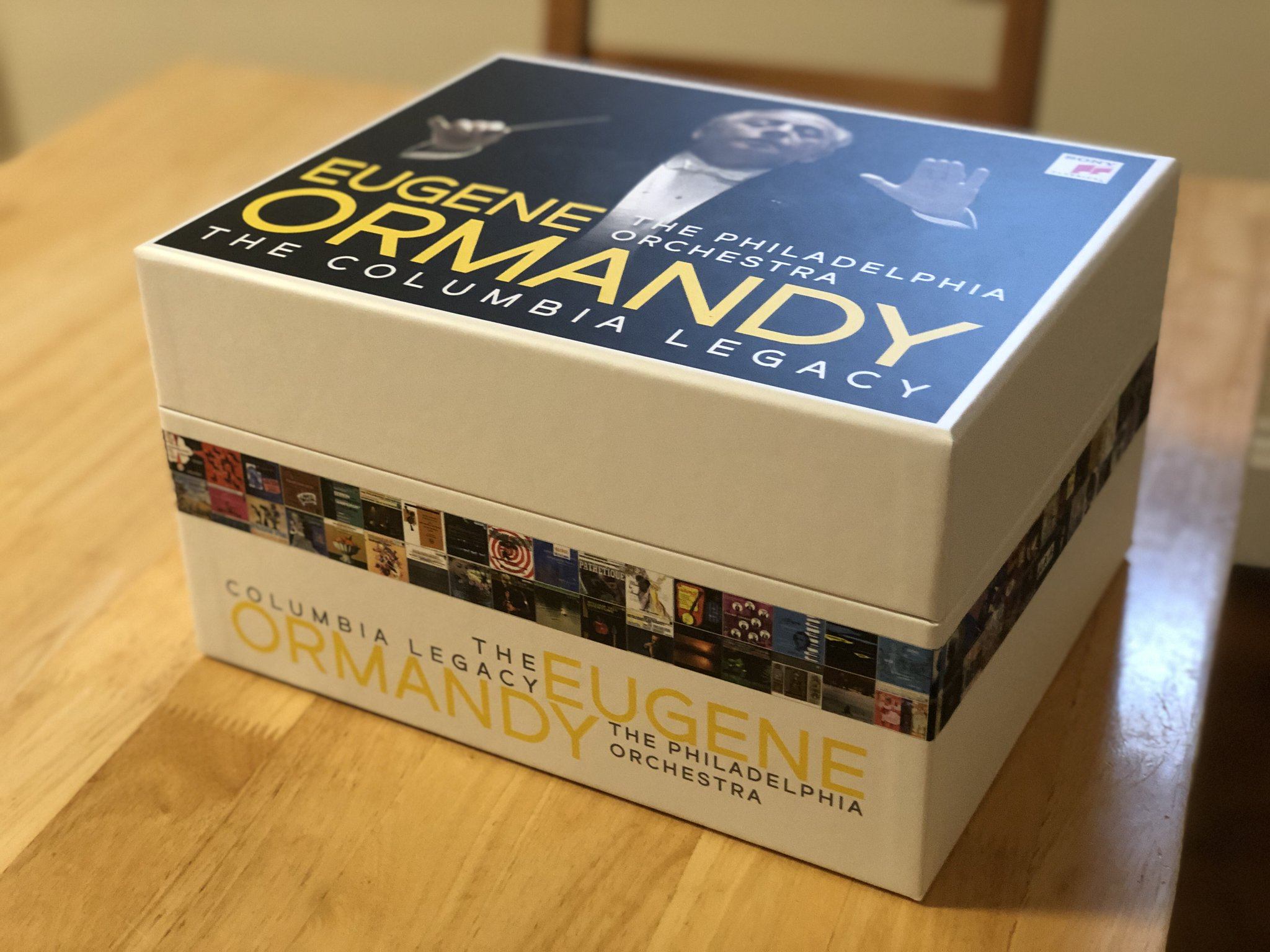 """David Allen on Twitter: """"I probably should have learned my lesson by now,  but no. So, here we go with Ormandy's complete Columbia recordings with the  Philadelphia Orchestra, the most prolific U.S. partnership of the postwar  era. It comes to 120 CDs... ... for ..."""