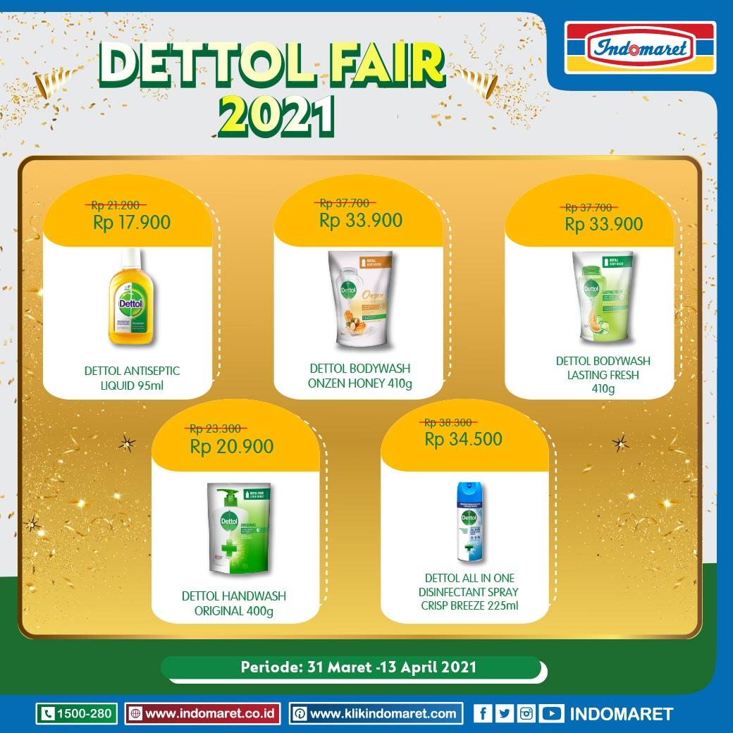 Promo Dettol Fair Indomaret