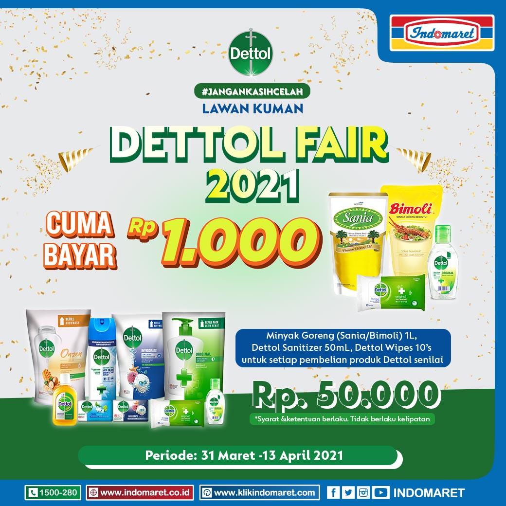 Dettol Fair Indomaret