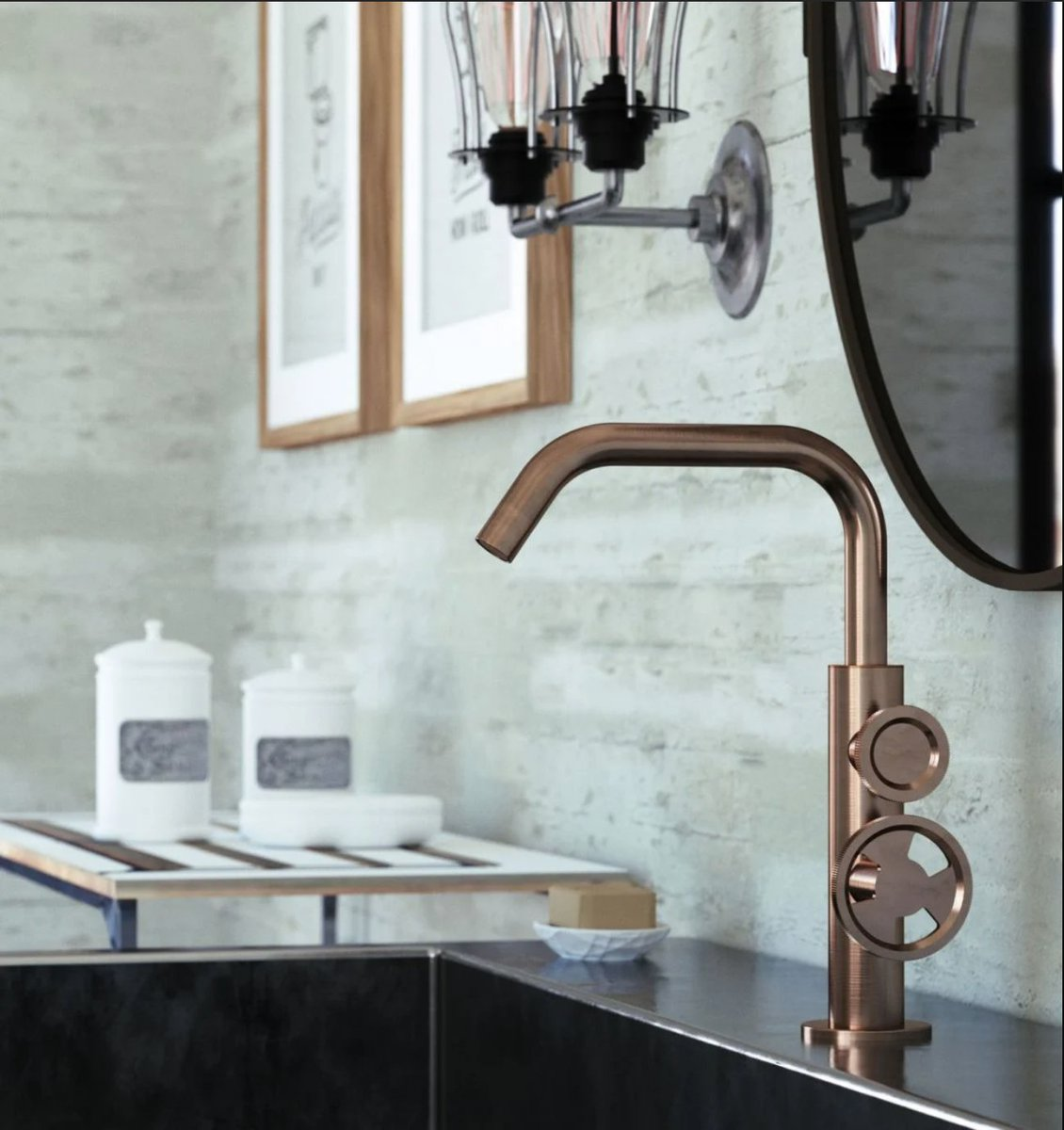 Finishes are what it's all about at the moment! F&B's brand of the week is @arteform. Get more bathroom inspiration here hubs.ly/H0JZtM30