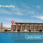Image for the Tweet beginning: Prindustry is verhuisd!💙 -