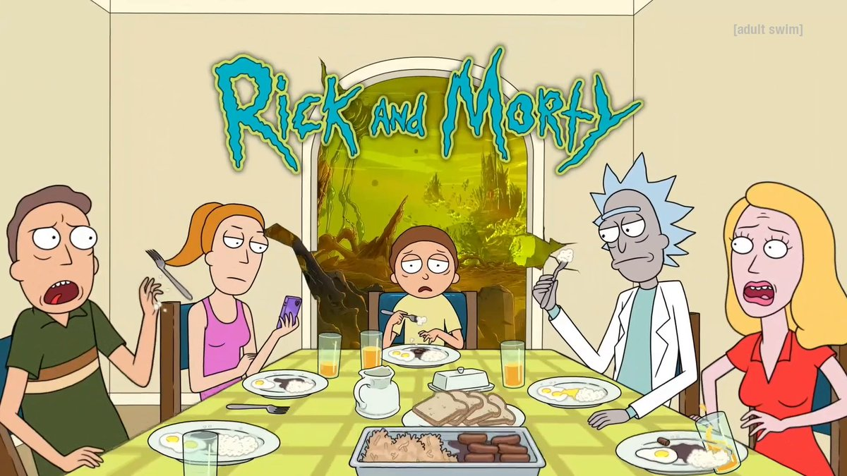 Now you can start asking us about season 6. Rick and Morty returns for season 5 on Sunday, June 20 at 11pm ET/PT on @adultswim https://t.co/qGBCOk36Dn