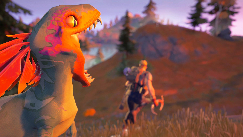 fortnite dinosaurios velocirraptores velocirraptor actualización 16.10
