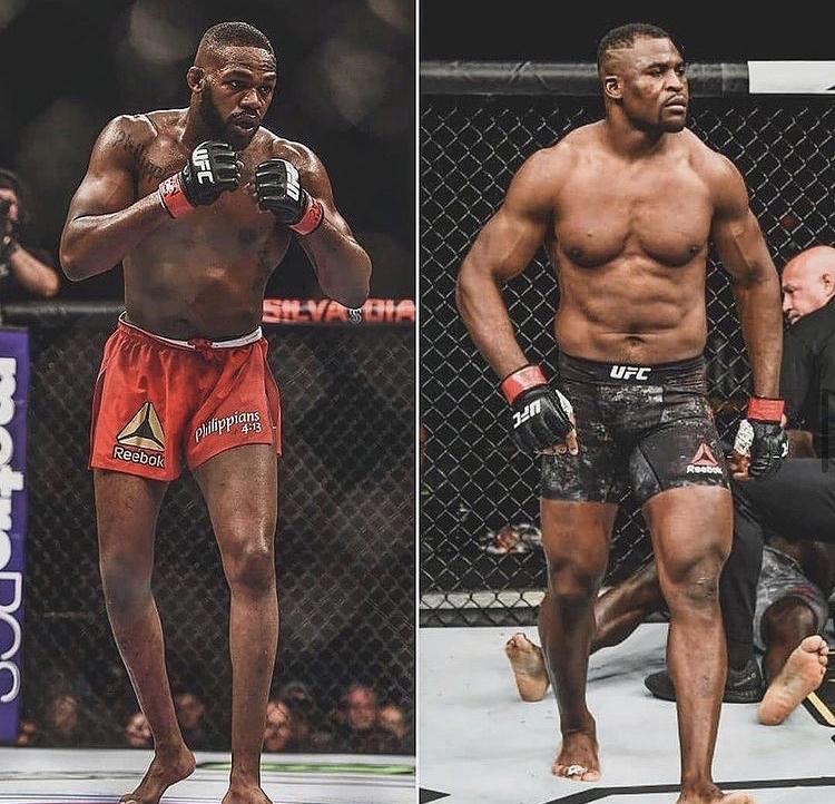 Jon Jones sends a daunting message to UFC heavyweight champion Francis Ngannou