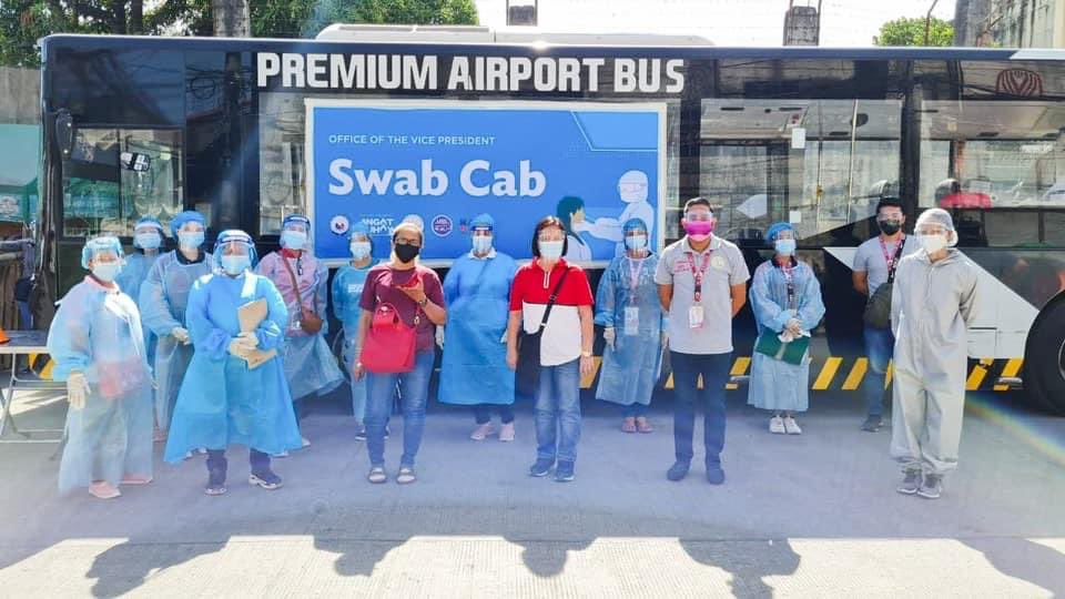 """OVP's free mobile antigen testing service, """"Swab Cab,"""" rides to high-risk areas"""