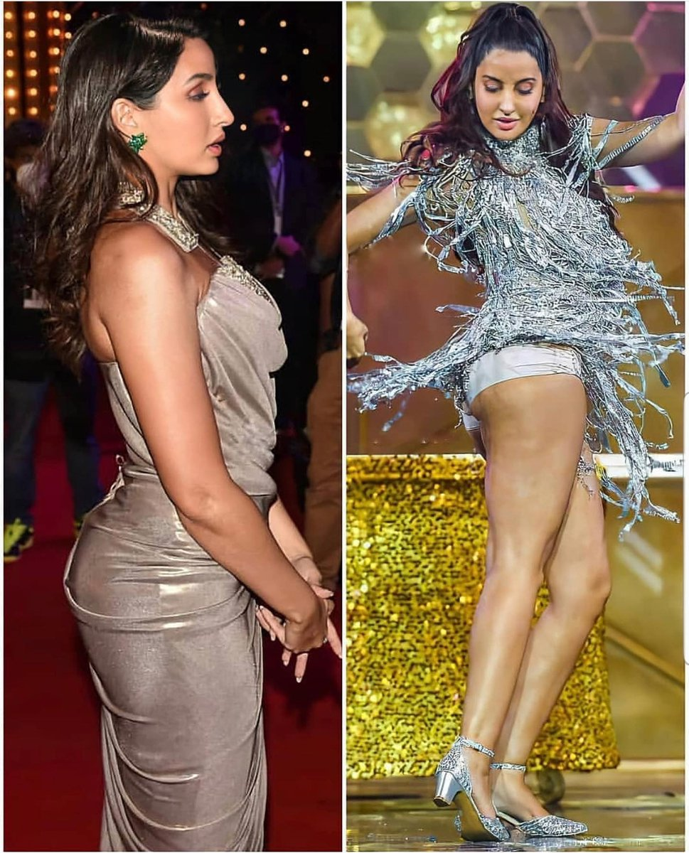 """KME STUDIO on Twitter: """"#norafatehi has an oops moment while performing at the #FilmfareAwards2021 #BollywoodBreaking… """""""