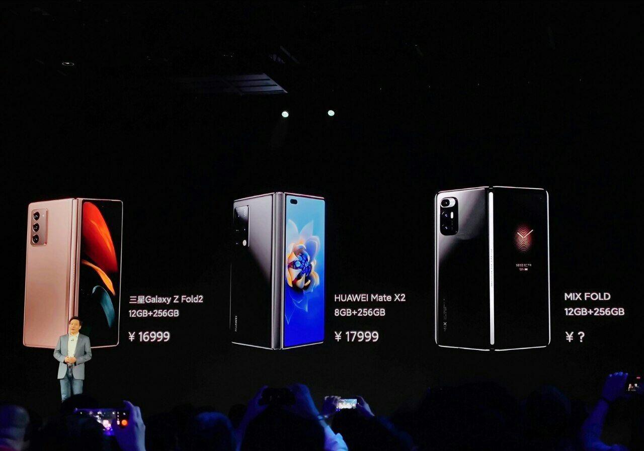 Xiaomi junta-se ao grupo de smartphones dobráveis com Mi Mix Fold 1