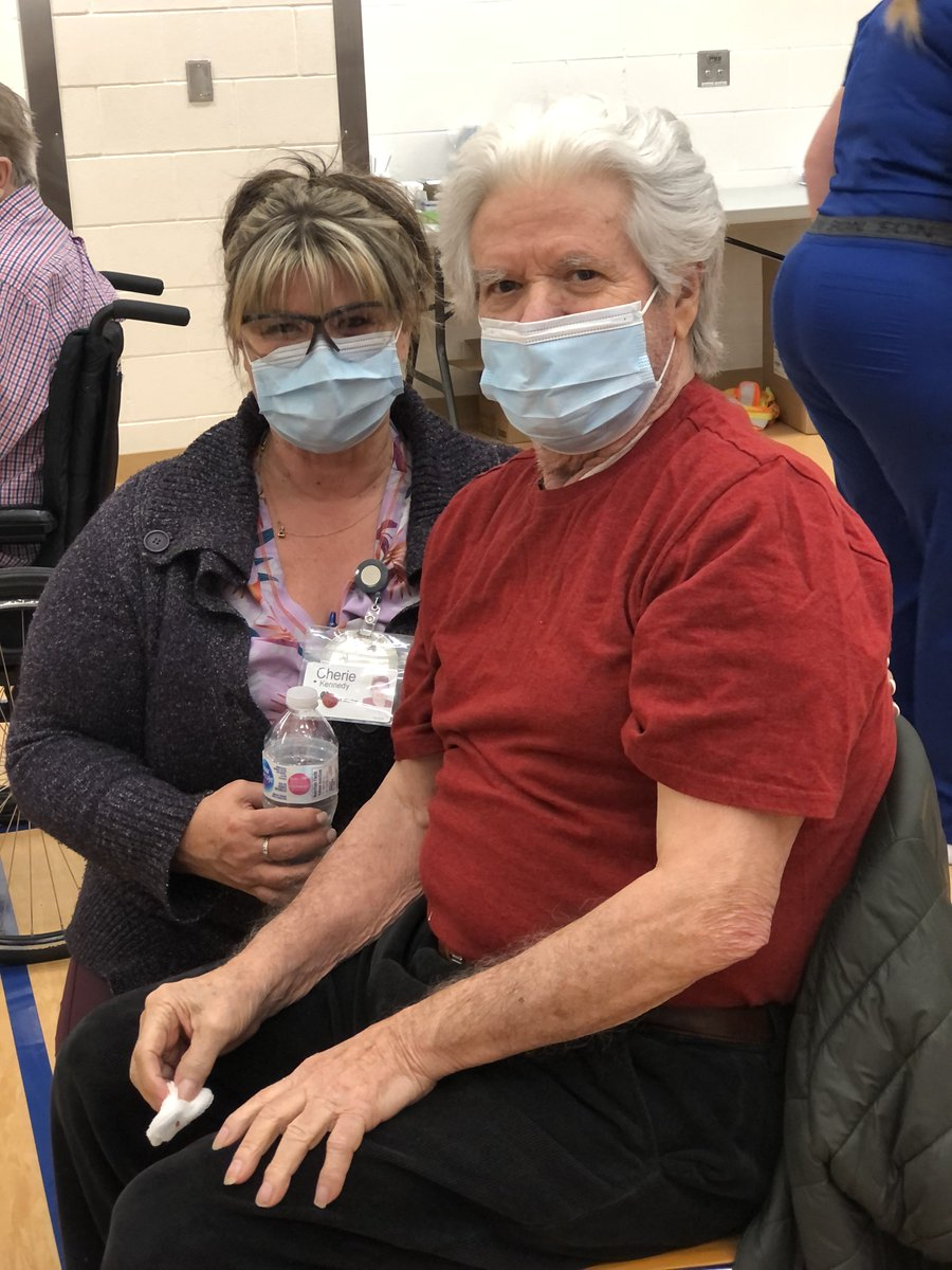 test Twitter Media - #vaccinated With help from our friends at @KingstonHSC we're hosting a vaccine clinic for close to 200 of our inpatients & Community Services clients today. They're all smiles as they receive their #COVID19 #vaccine. When we work together, incredible things happen! #GottheShot https://t.co/ZTCMoKwpWS