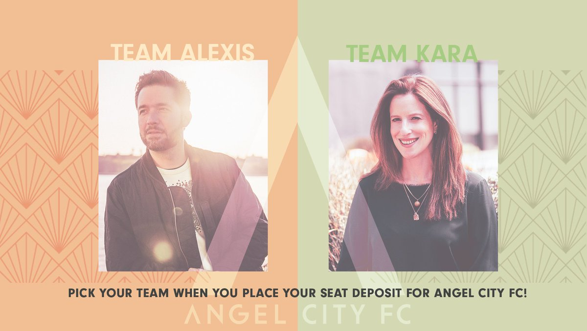 LA, let's #TakeFlight 🚀 Seat Deposits for the @weareangelcity inaugural season are here & open to all!   I'm going head-to-head with @karanortman so make sure to represent for #TeamAlexis 💪 LFG!!  → https://t.co/WwXGpRj2O3 https://t.co/mSXenZi4Zh