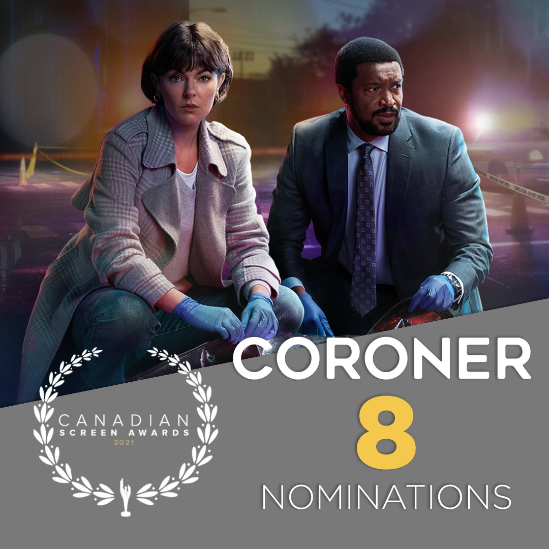 Coroner - Canadian Screen Awards