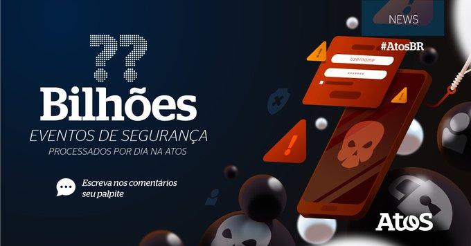 A @Atos é uma das empresas líder global em serviços de #cibersegurança 🛡 Já...