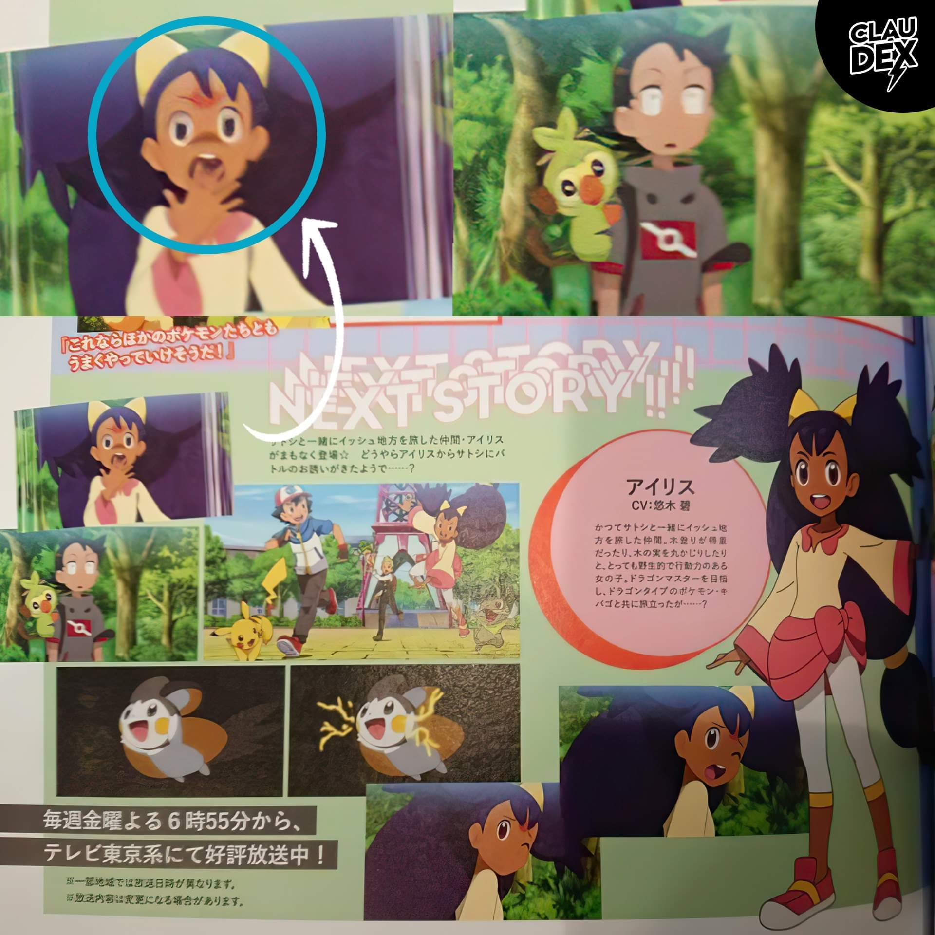 scan capitulo 65 Anime Pokémon Viajes