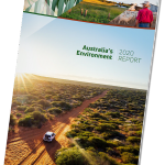 Image for the Tweet beginning: 'Australia's Environment in 2020' report,