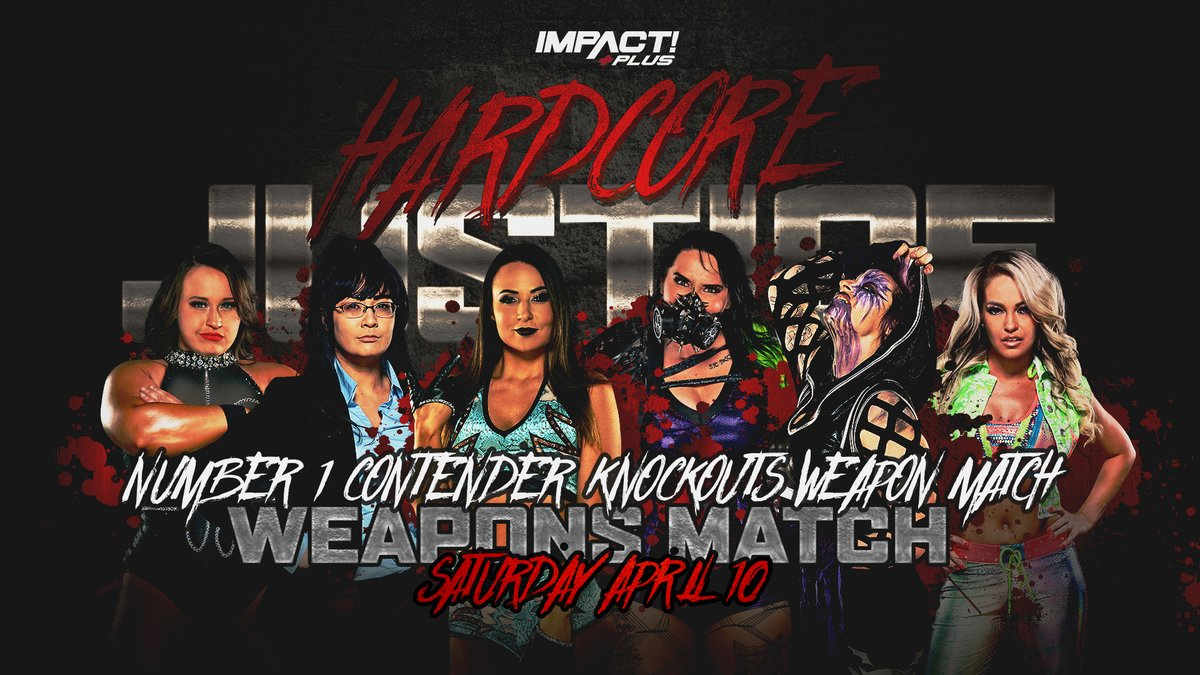 Title vs Career and Weapons Match Announced For Harcore Justice