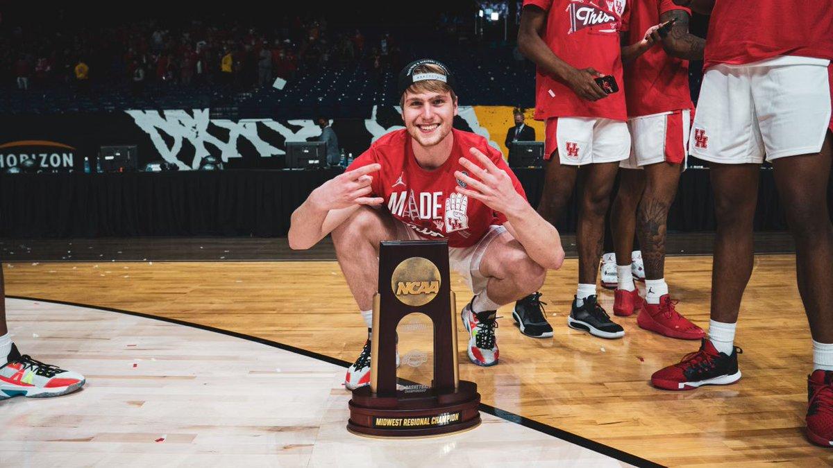 Caleb Broodo Houston Cougars Basketball Jersey - White