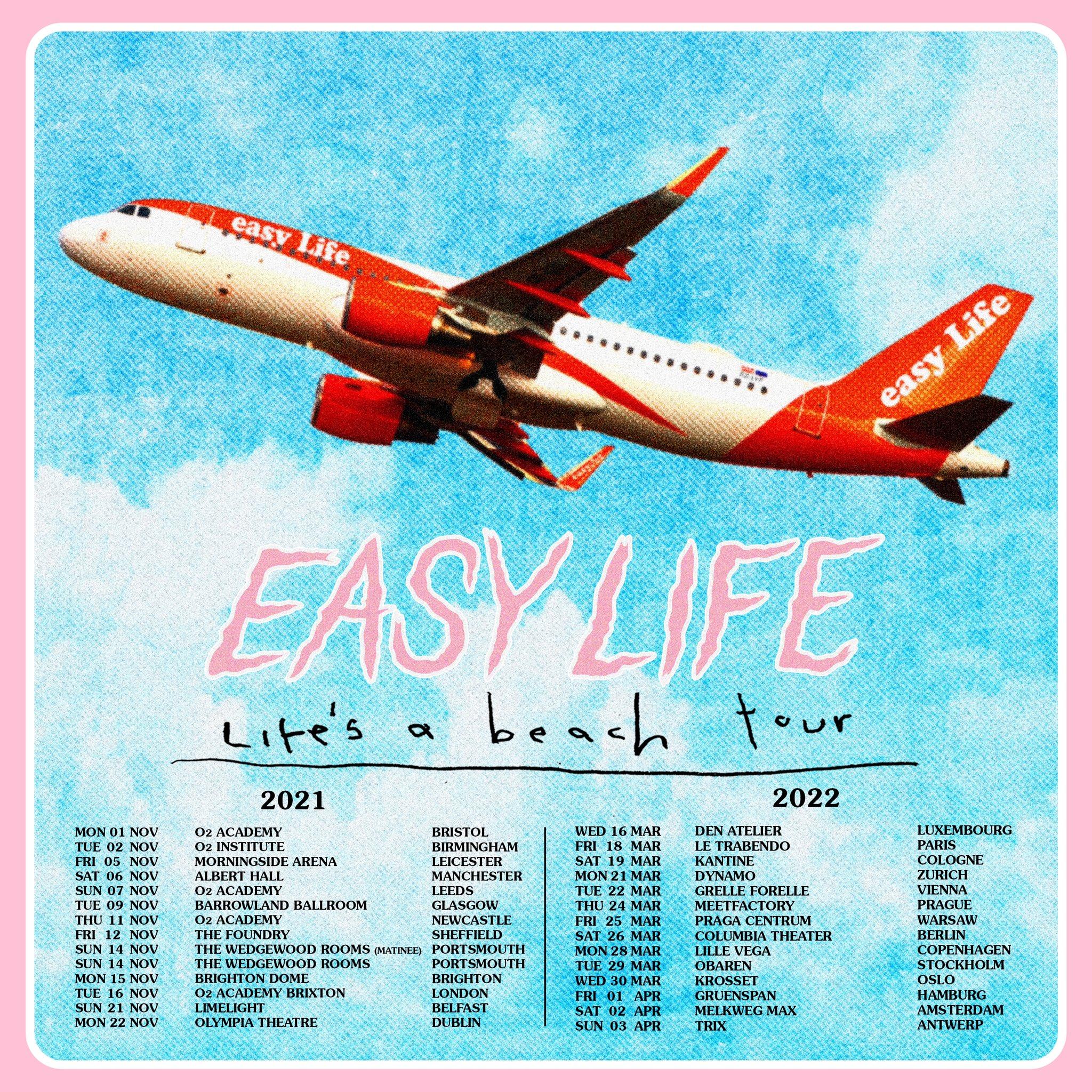 Dates de tournée d'Easy Life