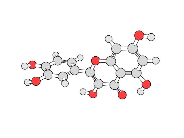 """化合物bot on Twitter: """"クェルセチン フラボノールに分類される化合物 ..."""