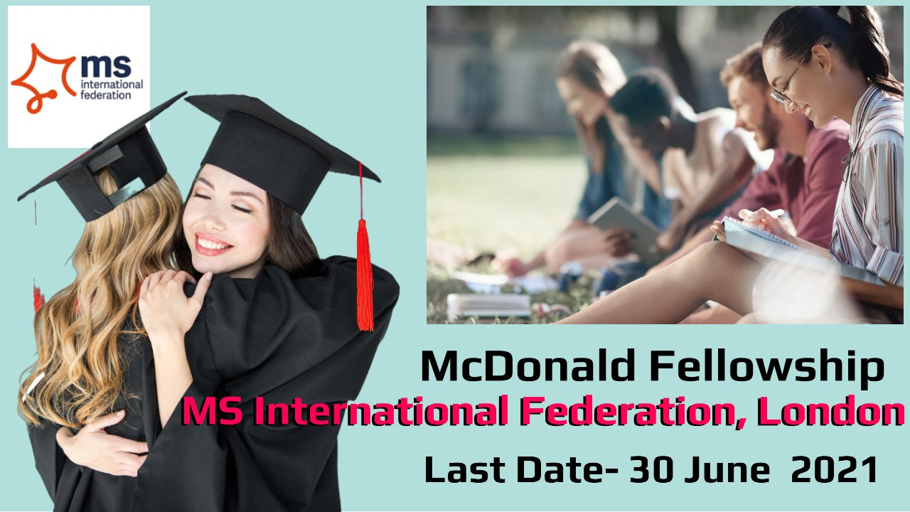 McDonald Fellowship by MS International Federation, London