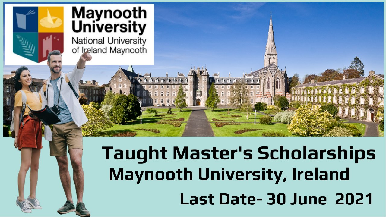 Taught Master's Scholarships by Maynooth University, Ireland