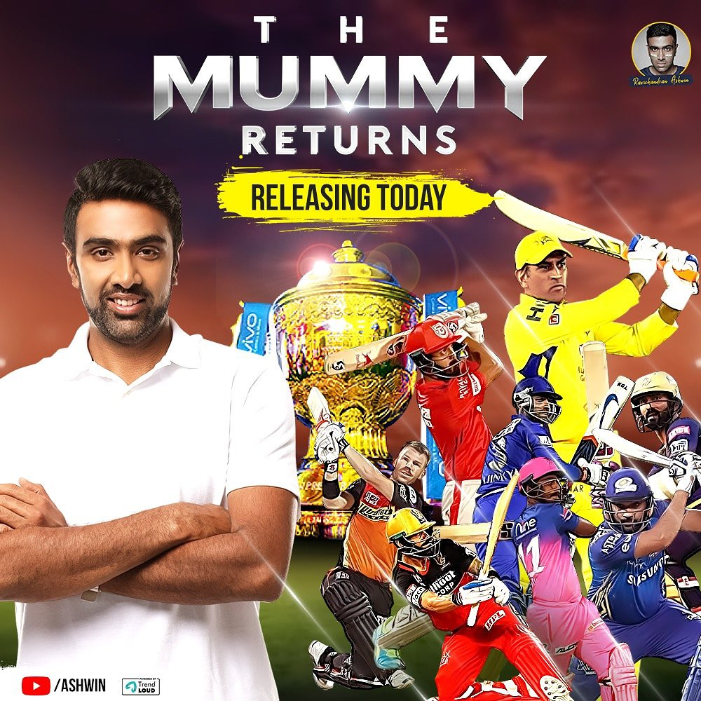 Here you go!!  It was #HelloDubaiAhh for IPL 2020, it will be #TheMummyReturns: Homecoming for IPL 2021, as IPL returns back to India.  #TheMummyReturns preview @ 2 pm today.⬇️⬇️⬇️⬇️⬇️  https://t.co/lr8Ucq5Acu https://t.co/EEZTdnTpHM