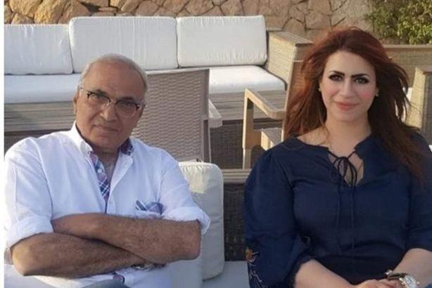 عبير حمدي الفخراني تثير الجدل بصورة مفاجئة مع أحمد شفيق