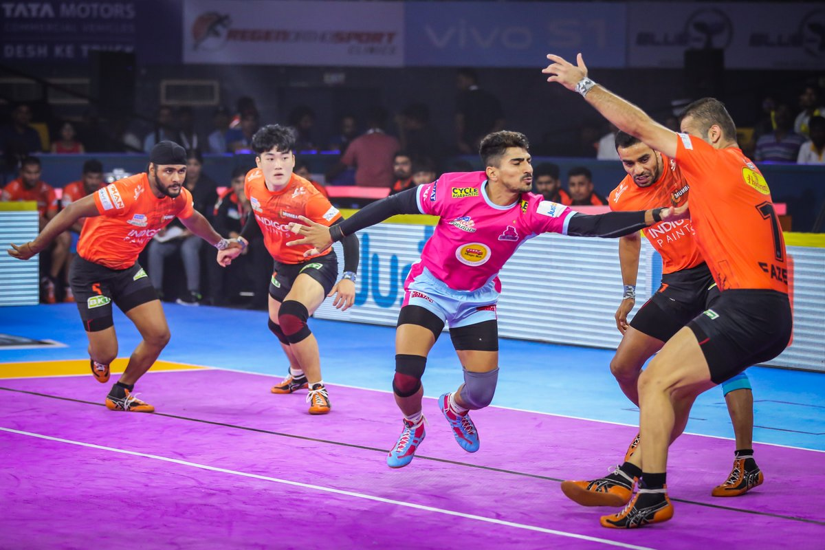 Surprise yourself every day with your own accomplishments.  #PantherSquad #JaiHanuman #TopCats #JaipurPinkPanthers #JPP #Jaipur #vivoprokabaddi