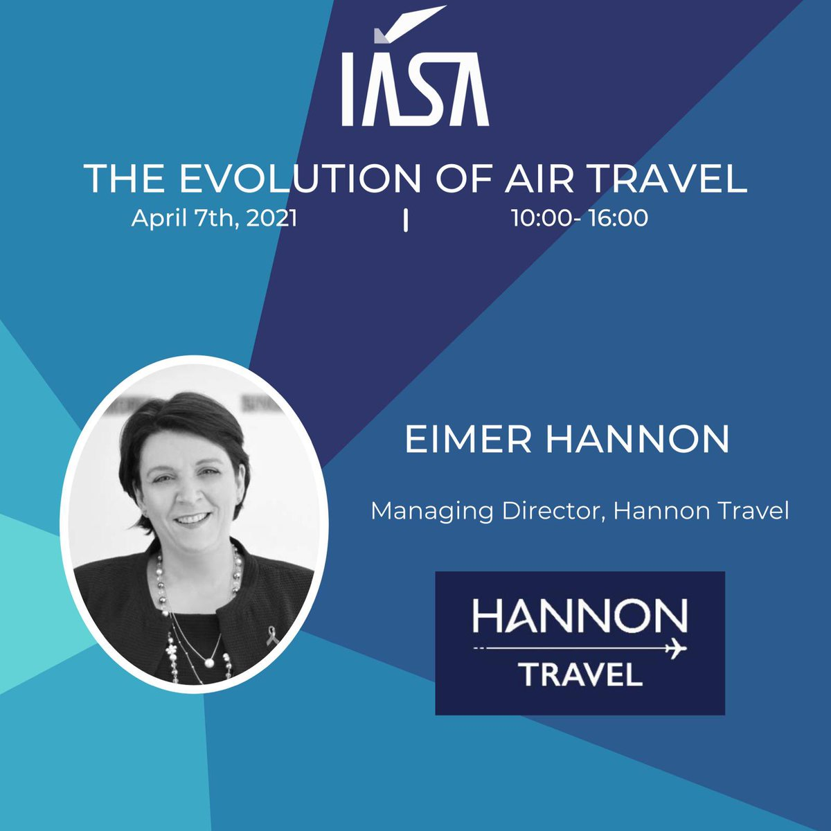 """Delighted to working with #IASA and speaking on """"The future of the Travel Professional""""  🌍✈️☘️ 👩🎓"""