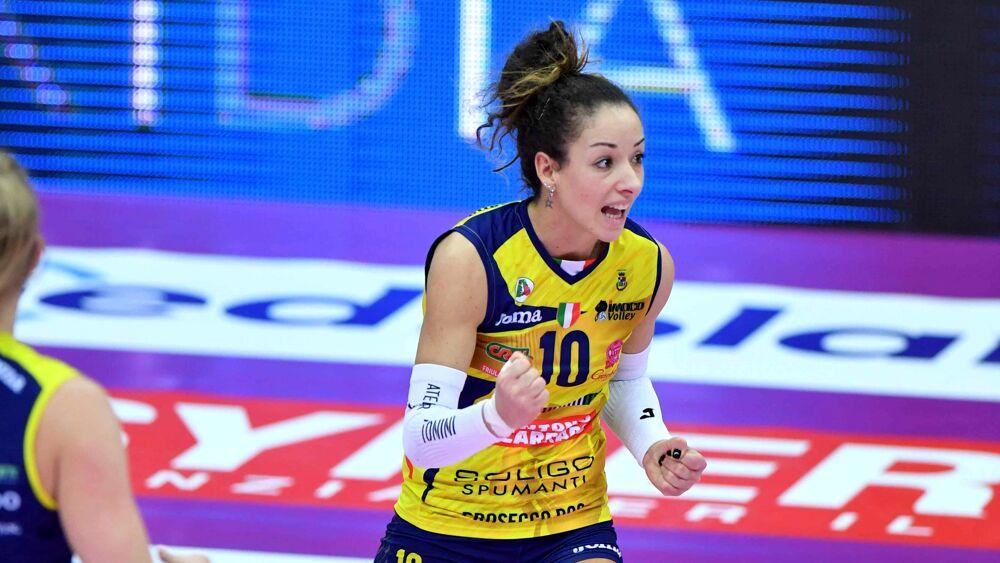 Finale Scudetto per l'Imoco Volley: Moki De Gennar...