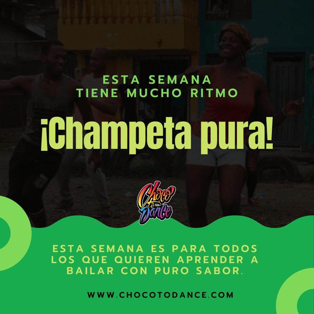 test Twitter Media - Esta semana #bailamos al ritmo de la #Champeta, música afro caribeña que te hace querer mover el esqueleto. https://t.co/dhy0VDLu7n https://t.co/fAuaFPDQ56