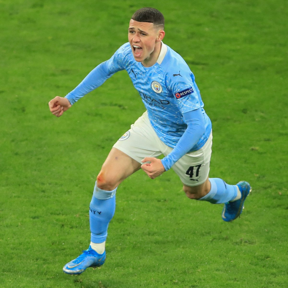 🔵 How highly do you rate Phil Foden?   #UCL https://t.co/FeltTmz7ww