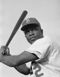 15 April 1947: Jackie #Robinson, the first black #baseball player in the major leagues, debuts for the #Brooklyn #Dodgers at first base. He would mostly play at second base during his storied career. #MLB #history #firsts #ad https://t.co/Cibd9iPGMP https://t.co/q0AOtcbWHO