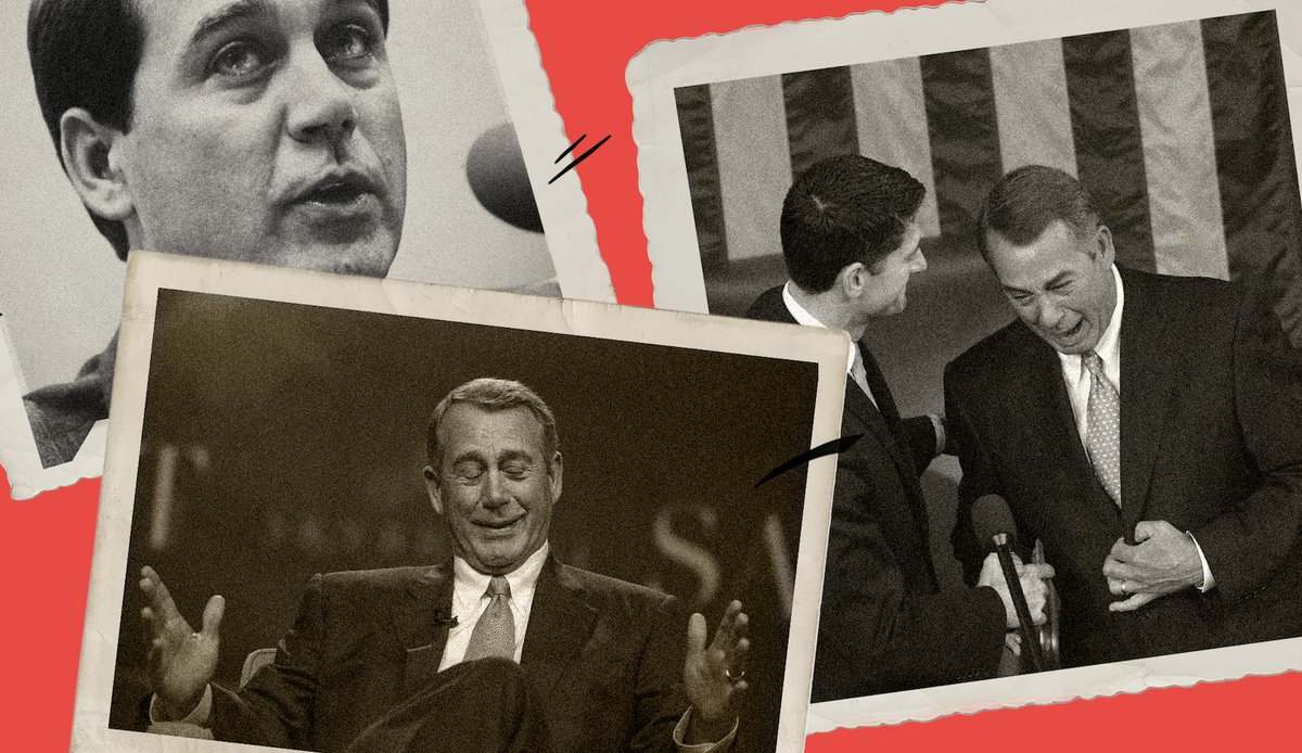 John Boehner's new tell-all memoir reveals a lot of things about Washington.  But there's one thing it doesn't do...  @HayesBrown has more for @MSNBCDaily: https://t.co/4TAuoWbWaD  #11thHour https://t.co/Dkdglj25wp
