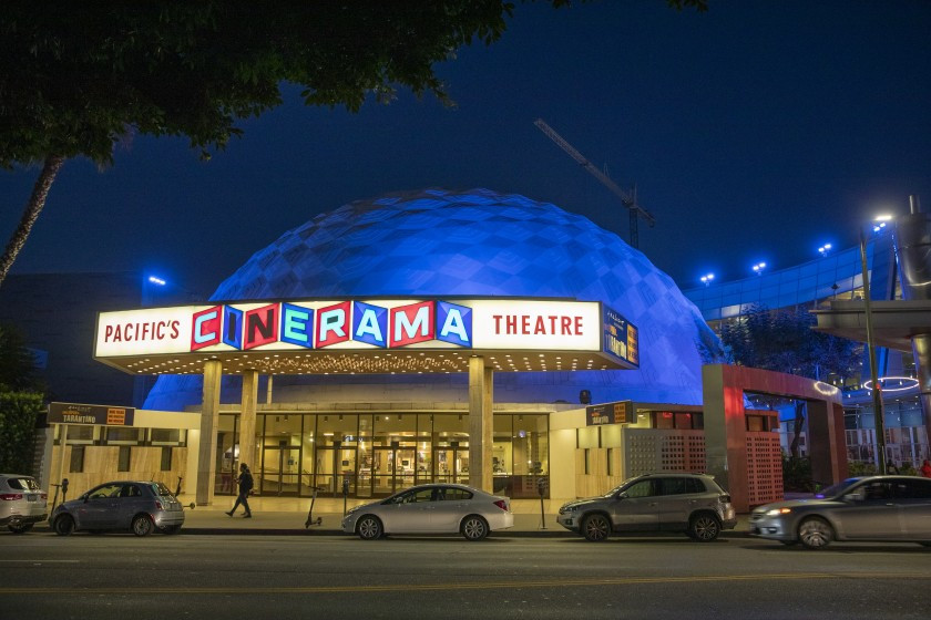 Cinerama Dome Closes -  - The iconic Hollywood landmark theater closes, and so does its parent movie chains, @ArcLightCinemas and Pacific Theaters. #movies #film #cinemas #theaters