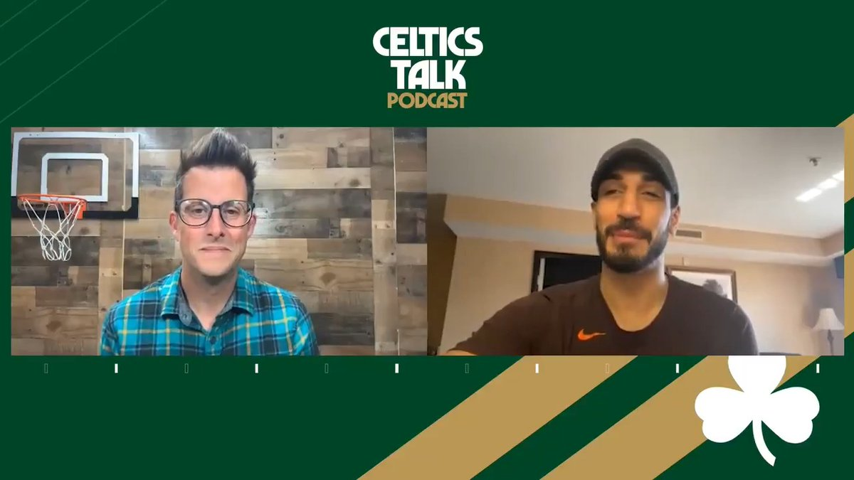 """""""If I get dunked on they're going to be talking about it all summer.""""  Enes Kanter tells @ChrisForsberg_ on the Celtics Talk Podcast that he only cares about preventing one thing vs the Celtics on Tuesday night 🤣  🎧 https://t.co/cL9pCx9Flj 📺 https://t.co/4rYc8XlR0c https://t.co/2GPEX09N2f"""