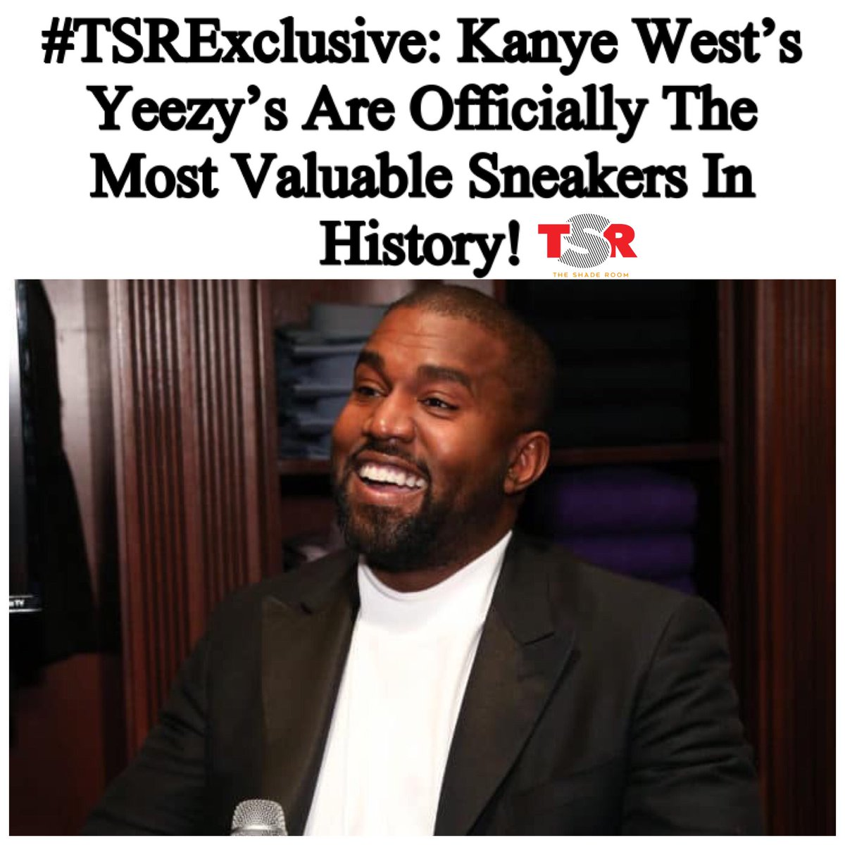 Kanye just keeps winning! 👏🏽 https://t.co/itgPEhYbRE https://t.co/wsxqFbCPXx