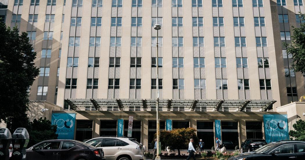 Subpoenaing the Brookings Institution, Durham Focuses on Trump-Russia Dossier Photo