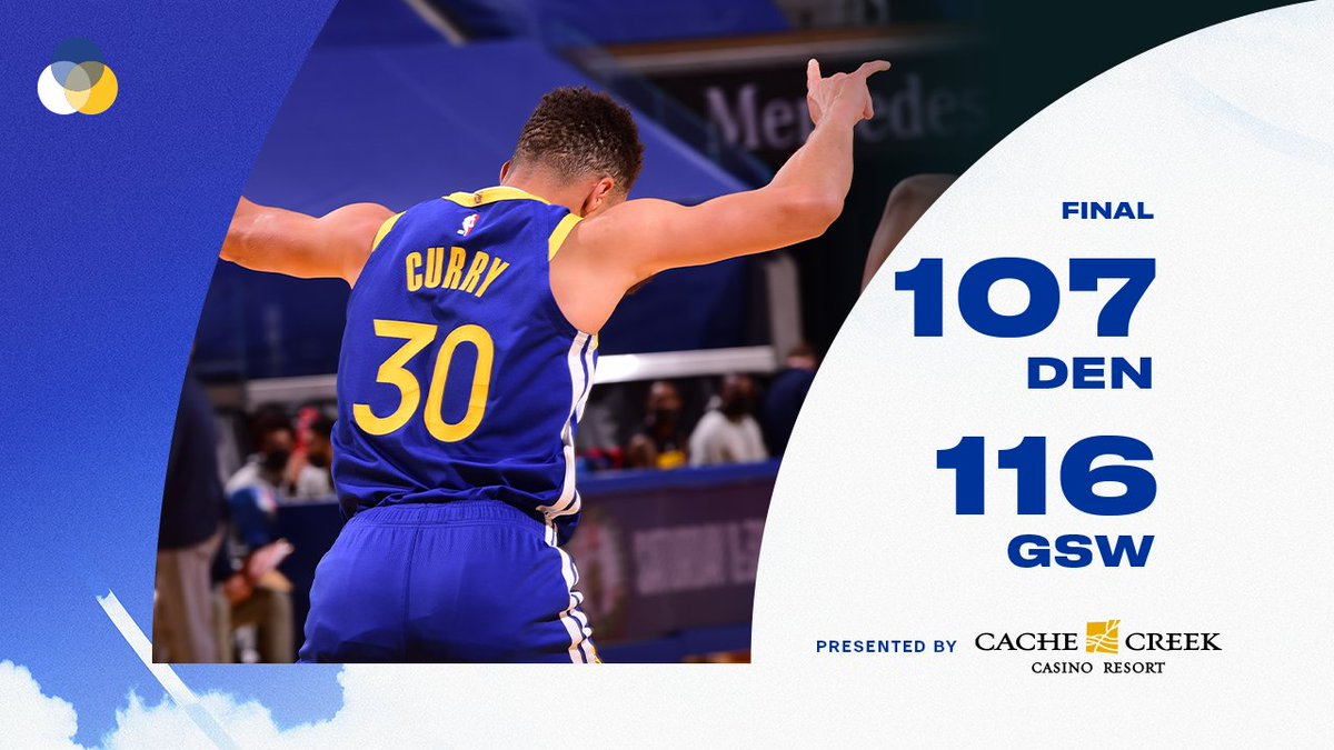 historic night on #WarriorsGround https://t.co/8ESuC9c8gh