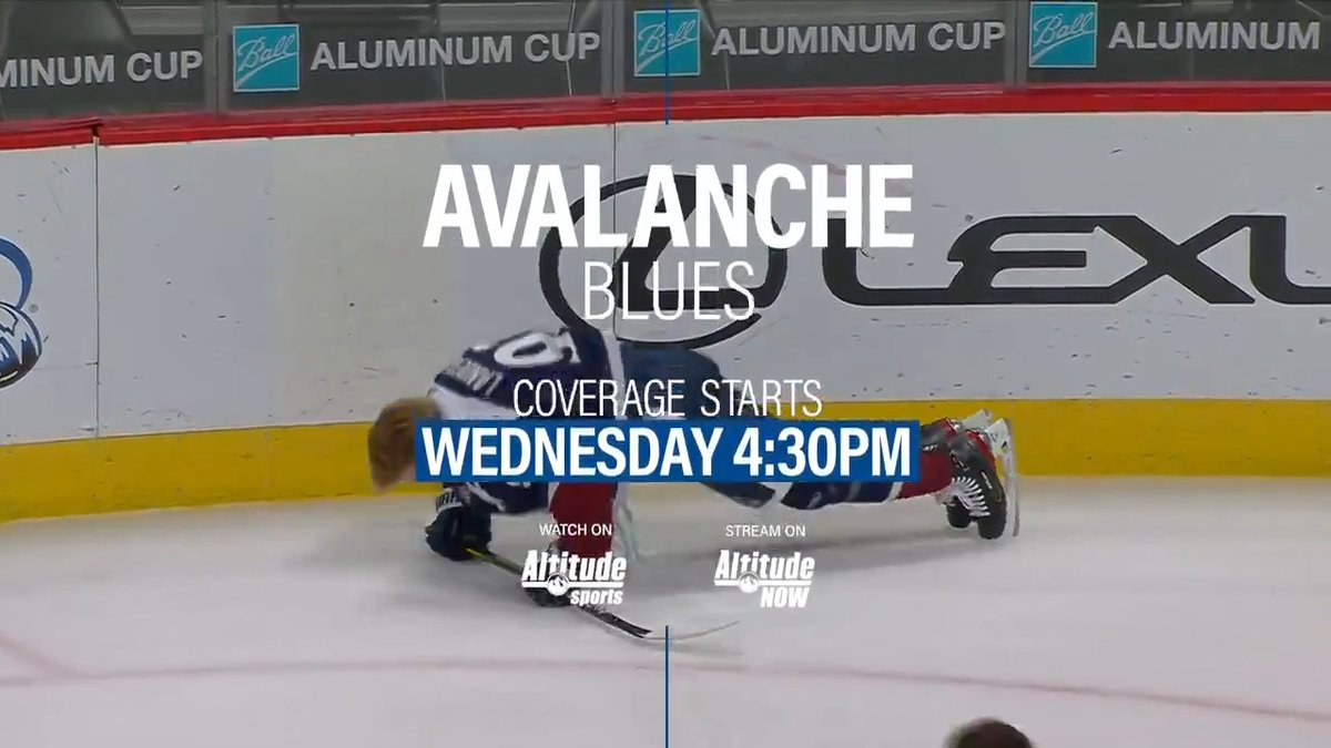 A quick road trip for the @Avalanche as they face the @StLouisBlues.  #GoAvsGo https://t.co/GjdXVMoxGF