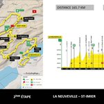 Image for the Tweet beginning: #TDR2021 #TDRNONSTOP Un tracé exigeant.