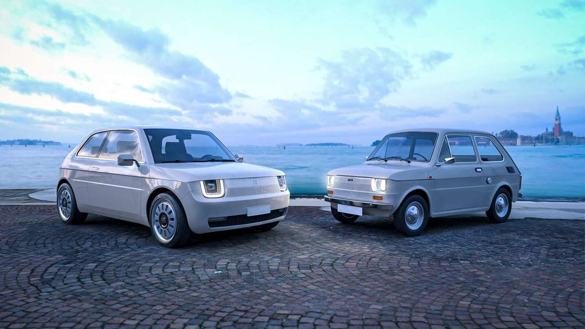 Would you love to see the Fiat 126 Vision hit showroom floors? 👇 goodwood.com/grr/road/news/…
