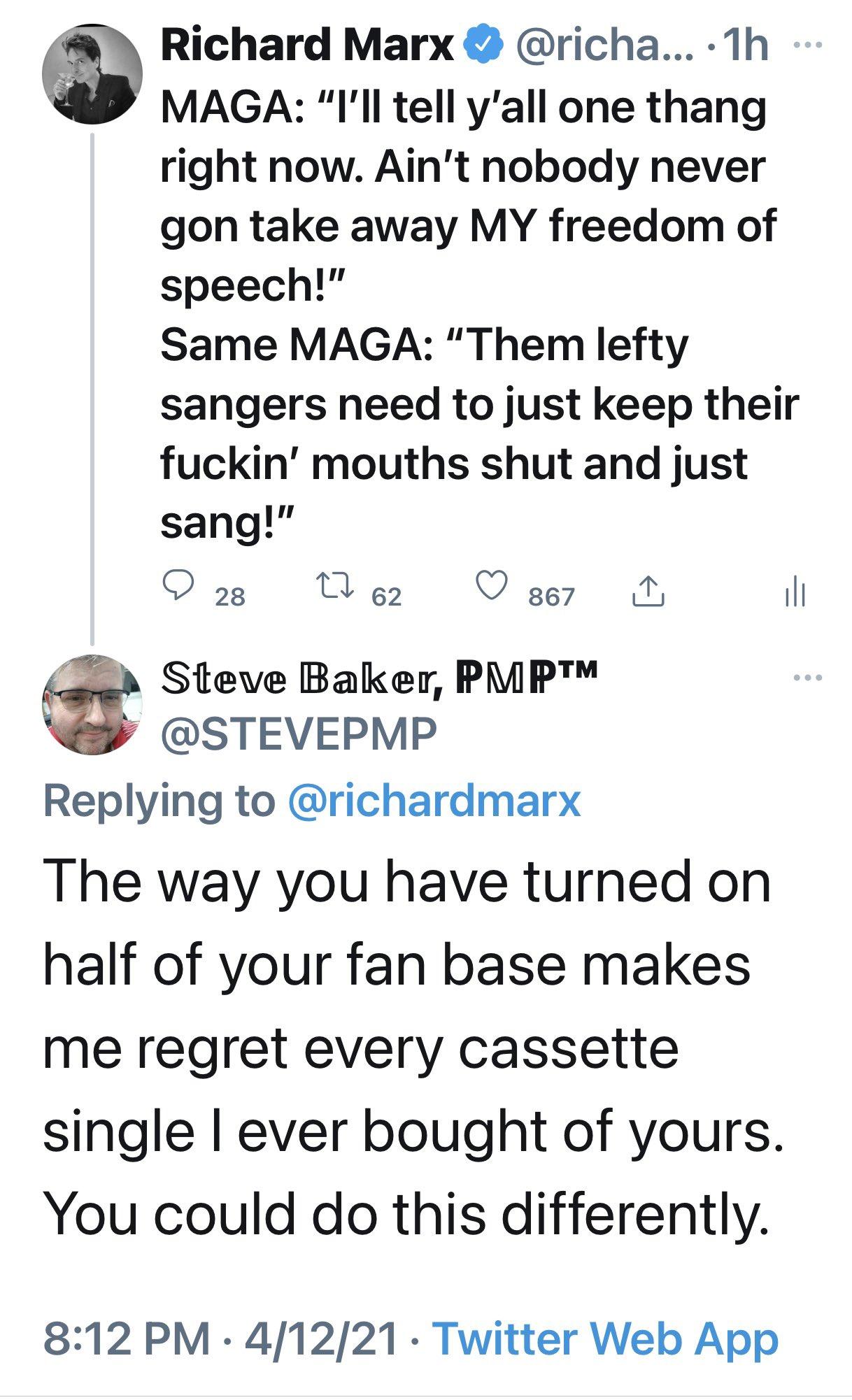 Richard marx tweet
