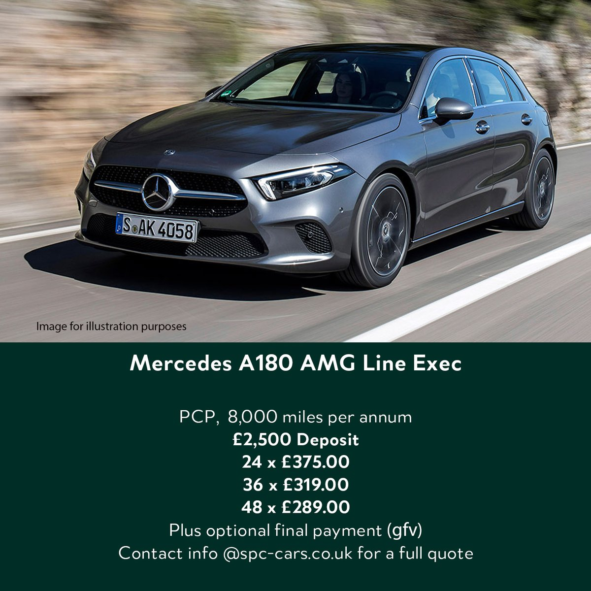 These are one of the best compact family hatchbacks on the market.  Stock available for delivery April May or June.  Contact info@spc-cars.co.uk to secure yours     #mercedes #aclass #amg #familycar #hatchback #economical #pfa #efl #spccars #newcardeals https://t.co/zsmETpt2m0