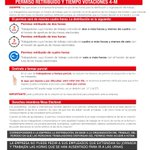Image for the Tweet beginning: Información relativa al Permiso retribuido