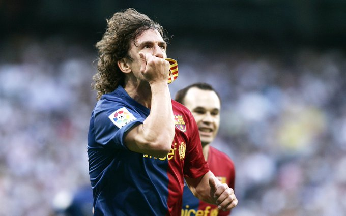 Happy 43rd birthday to Barcelona legend Carles Puyol