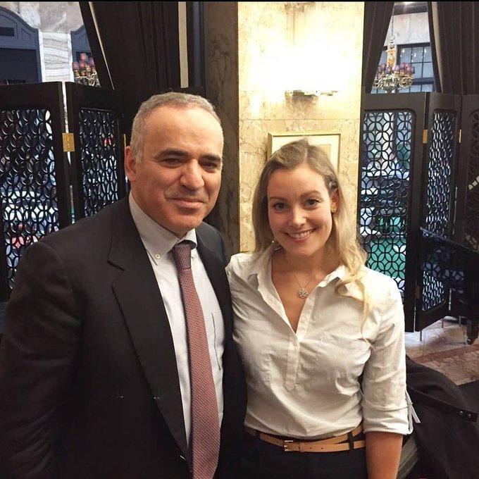 Happy birthday to Garry Kasparov! Wishing you all the best!
