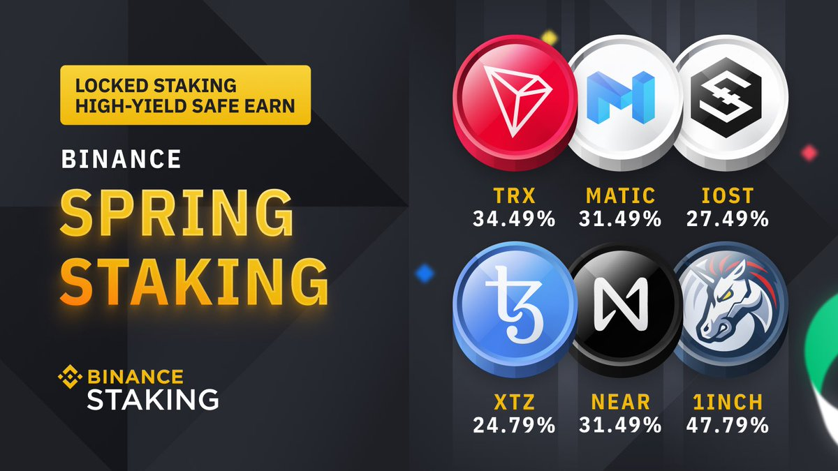 Stake your #TRX starting from 2021-04-13 12:00 PM (UTC) to earn up to 34.49% APY😍Don't miss out!!! #TRON