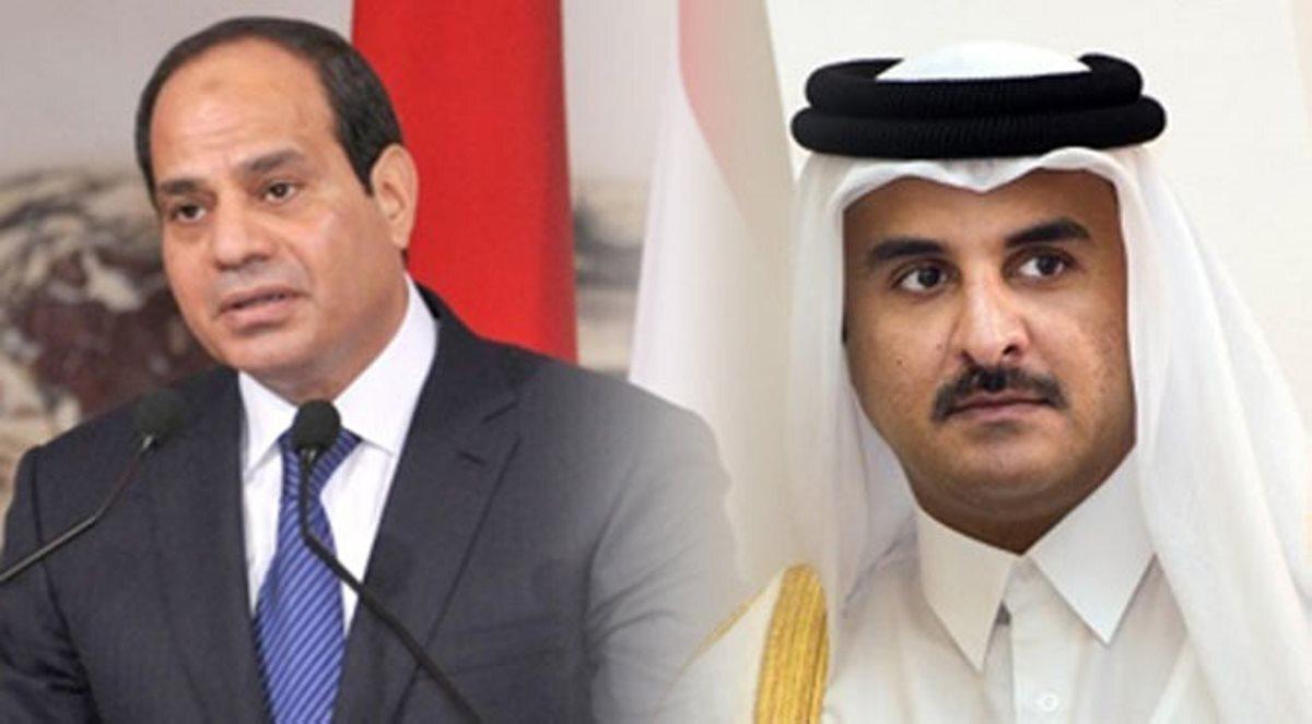 مصر تكشف تفاصيل أوّل اتّصال بين السيسي وأمير قطر منذ الأزمة