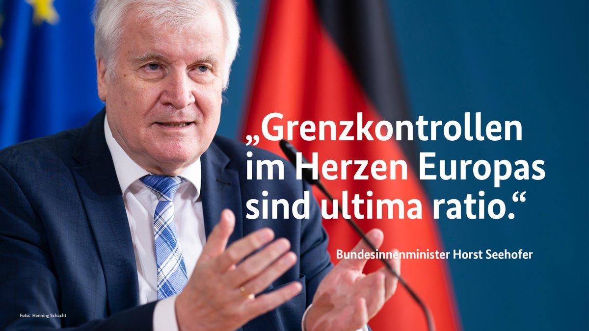 Für den deutsch-tschechischen #Grenzraum ist diese Entscheidung durch den Bundesinnenminister ein ganz wichtiges Signal. Gerade der Grenzraum hat besonders unter der #Corona-Pandemie zu leiden. 🇩🇪🇨🇿